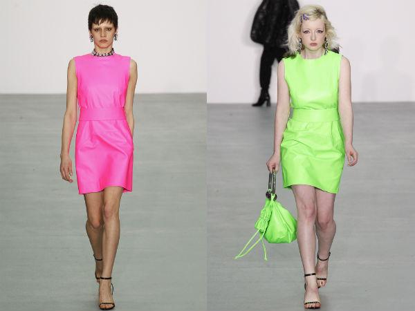 Ce culori rochii de zi se poarta toamna 2016