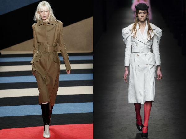 Trenciuri la moda toamna iarna 2016 2017: culori