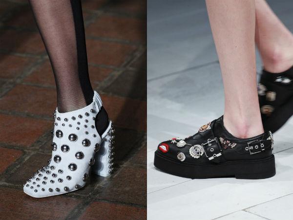 Papuci fete la moda