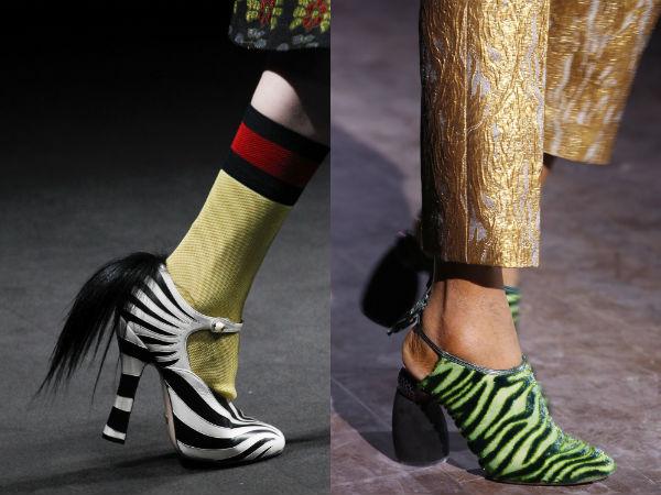 Pantofi dama toamna iarna 2016 2017: imprimeu
