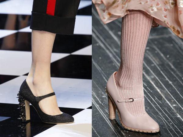 Ce pantofi se poarta toamna 2016