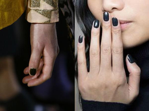 Culori unghii inchise