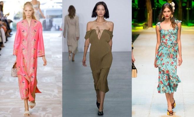 Rochii la moda primavara-vara 2017