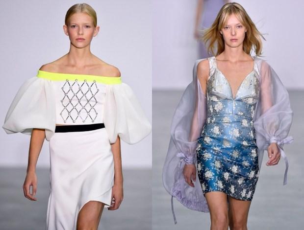 Saptamana modei de la Londra primavara vara 2017: maneci deosebite