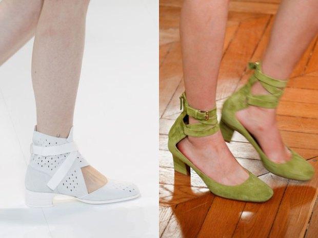 Pantofi casual cu toc mic