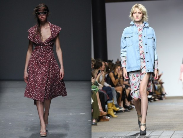 Stilul anilor 80 la saptamana modei de la Londra