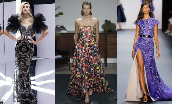 Rochii de seara la moda primavara-vara 2017