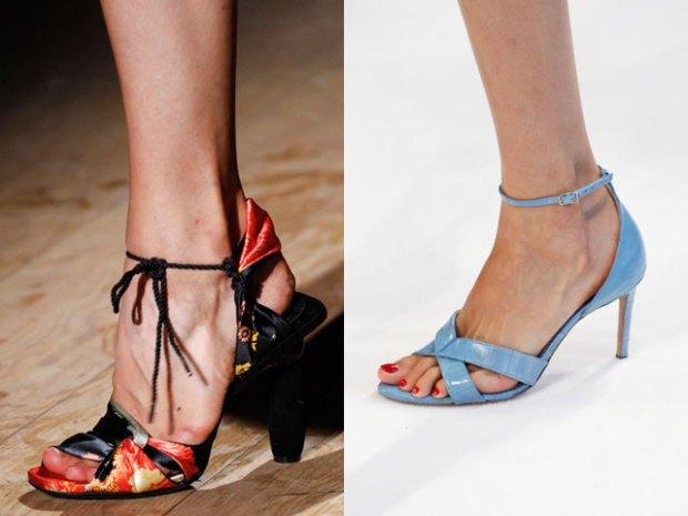 Sandale cu toc primavara vara 2017