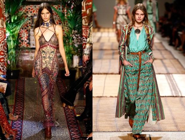 Boho chic la saptamana modei Milano primavara vara 2017