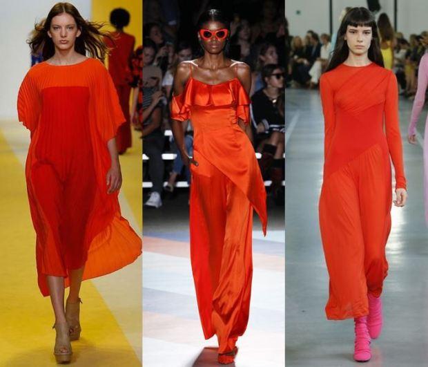 Rochii culori la moda 2017
