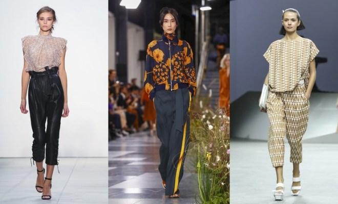 Pantaloni la moda primavara-vara 2017