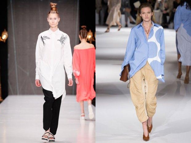 Bluze lungi de primavara 2017