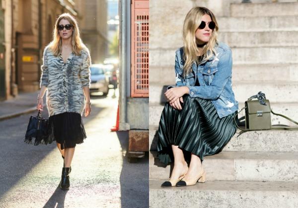 Tendinte moda strazii 2017 fuste plisate