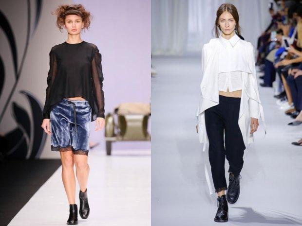 Bluze la moda 2017 scurte
