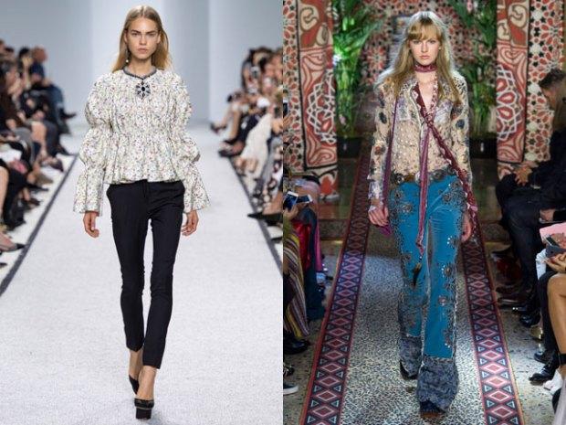 Bluze primavara vara 2017 stil boho