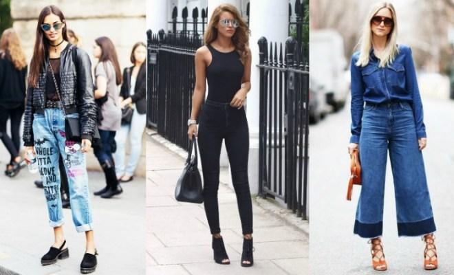 Blugi la moda primavara-vara 2017