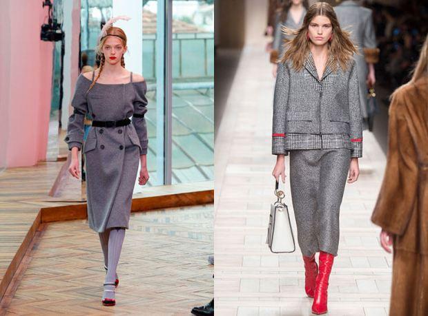 Culoarea gri la moda toamna iarna 2017 2018