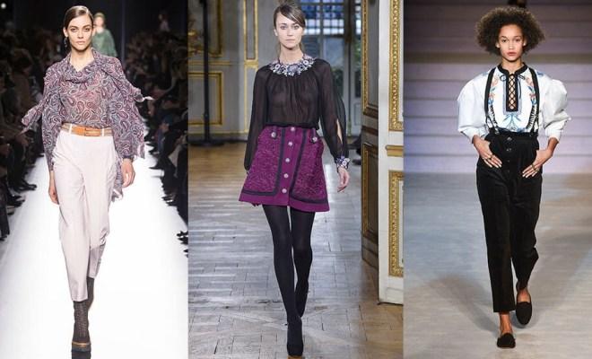 Bluze la moda toamna-iarna 2017-2018