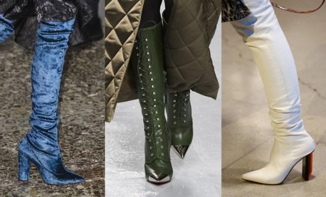 Cizme la moda toamna-iarna 2017-2018