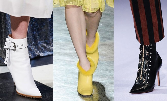 Botine la moda toamna-iarna 2017-2018