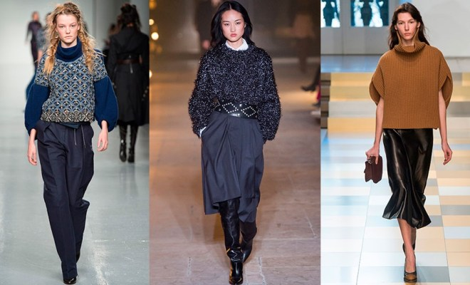 Pulovere la moda toamna-iarna 2017-2018