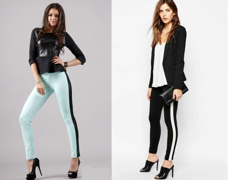 Pantaloni cu vipusca cum purtam