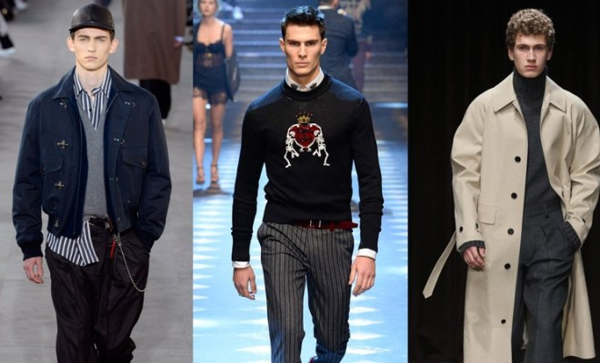 Moda barbati toamna-iarna 2017-2018