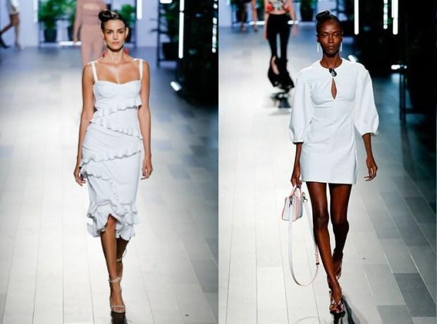Modele rochii albe de ocazie 2018