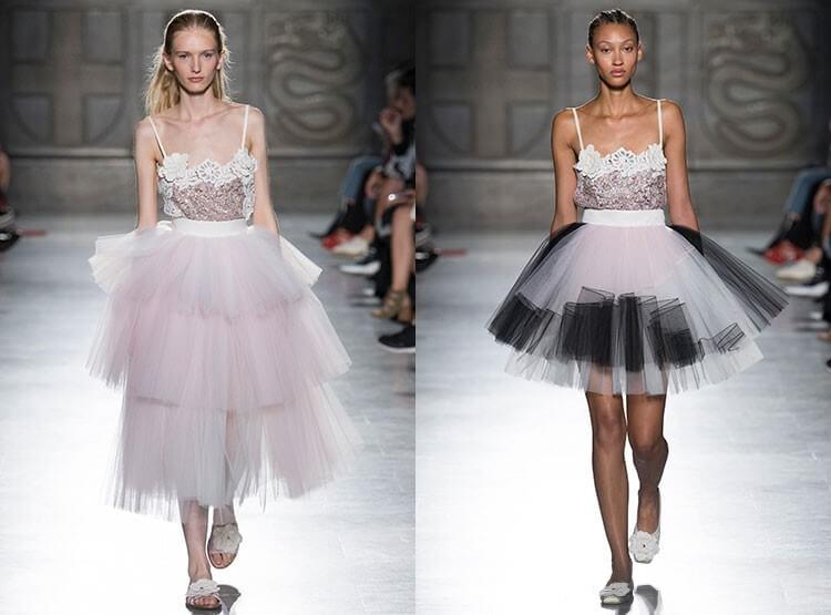 Fusta tutu la moda in 2018
