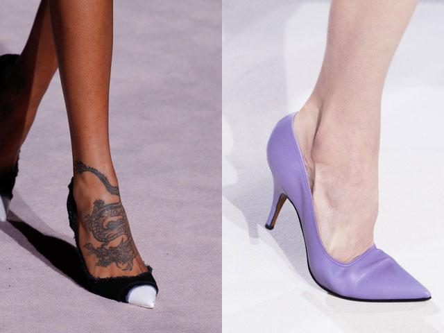 Ce pantofi se poarta vara 2018