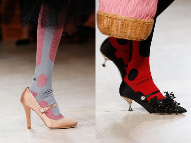 Pantofi cu ciorapi 2018