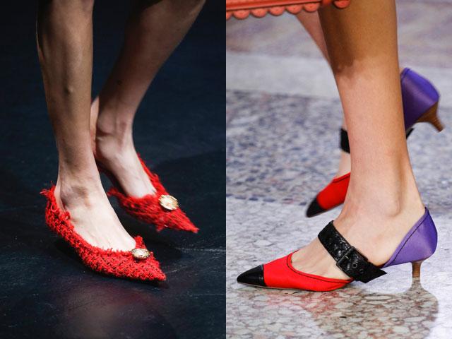 Pantofi 2018 stilati