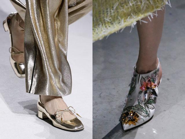 Pantofi de seara primavara vara 2018