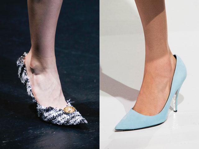 Pantofi cu toc cui primavara vara 2018