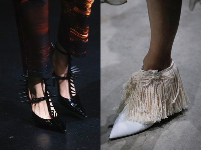 Pantofi 2018 primavara vara: neobisnuiti