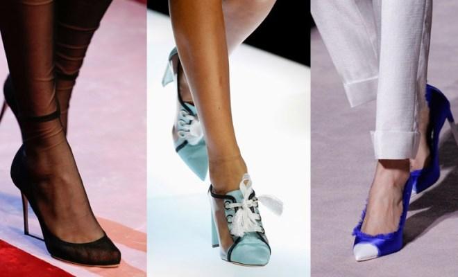 Pantofi la moda primavara-vara 2018