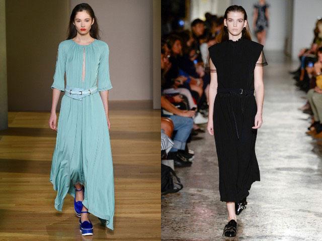 Modele rochii office lungi 2018