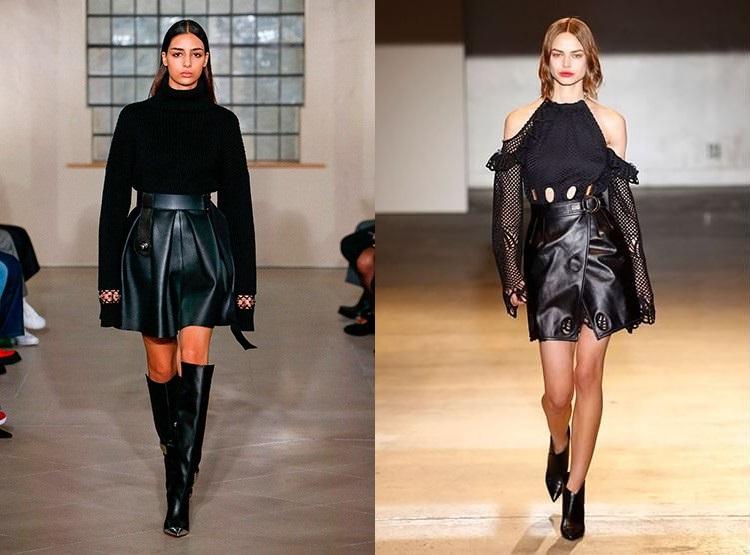 Tendinte moda toamna iarna 2018 2019 piele