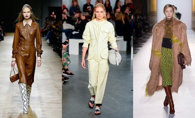 Principalele tendinte moda toamna-iarna 2018-2019
