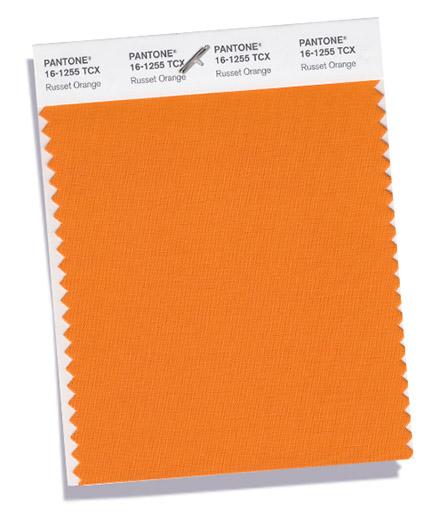 Culoarea Russet Orange