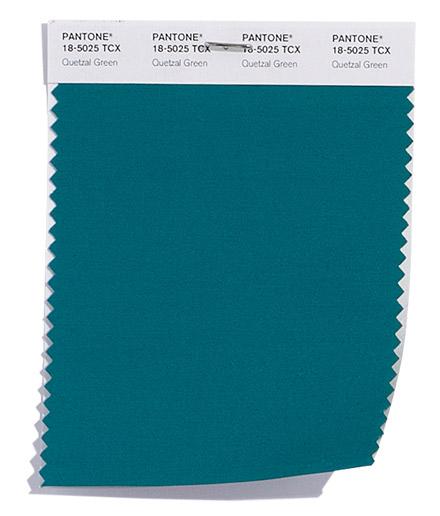 Culoarea Quetzal Green
