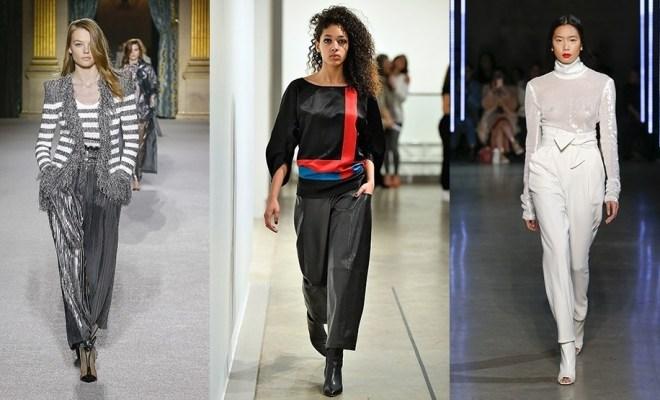 Pantaloni la moda toamna-iarna 2018-2019