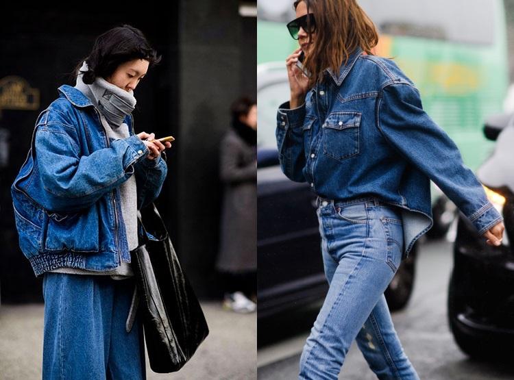Moda strazii toamna iarna 2018 2019: denim