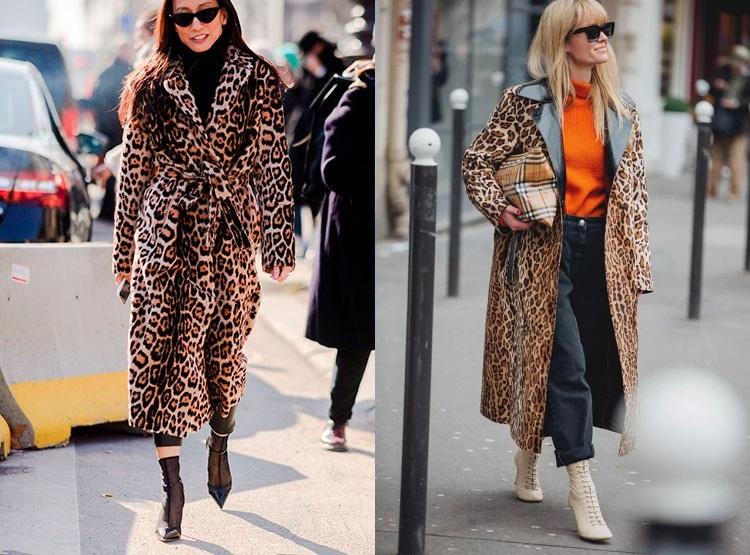 Imprimeu leopard la moda