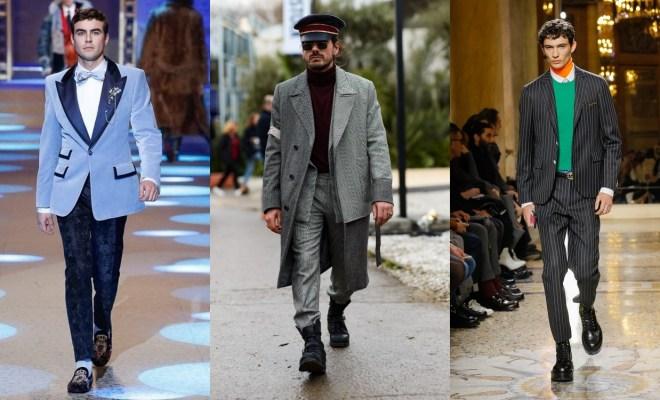 Moda barbati toamna-iarna 2018-2019