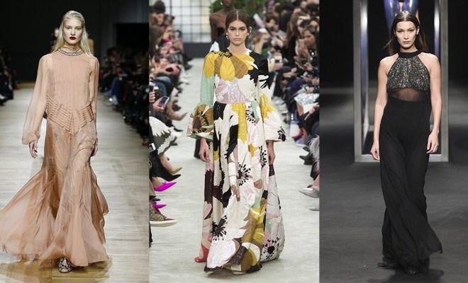 Rochii de seara la moda toamna-iarna 2018-2019