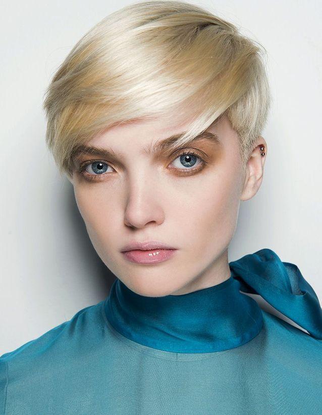 Blond par scurt
