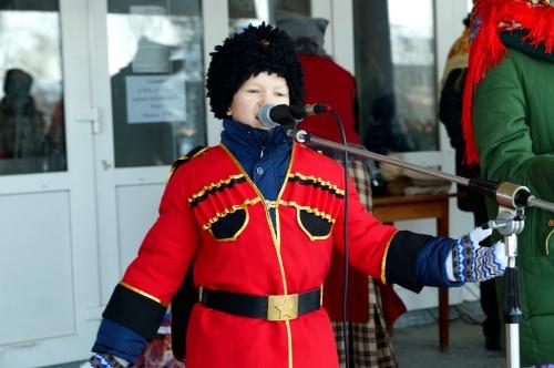 В Павловске прошел праздник казачьей культуры «Рождественские встречи с казаками»