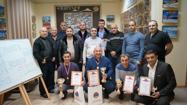 Союз армян Алтайского края провел ежегодный турнир по игре в нарды