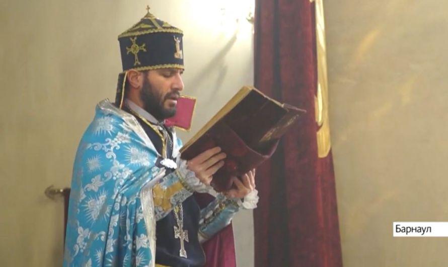 В Барнауле Армянская апостольская церковь встретила праздник Рождества и Крещения